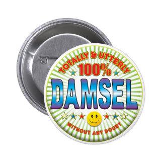 Damisela totalmente pins