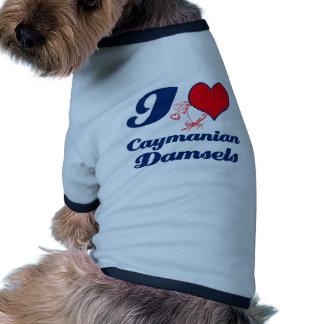 Damiselas de Caimán Camisa De Perro