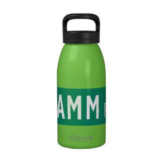 Damm Road, Street Sign, Indian, US Reusable Water Bottles