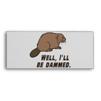 Dammed Beaver Envelopes