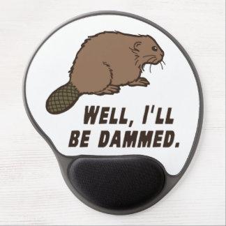 Dammed Beaver Gel Mouse Pad