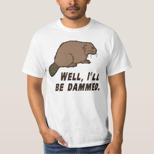Dammed Beaver T-shirt