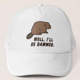 Dammed Beaver Trucker Hat