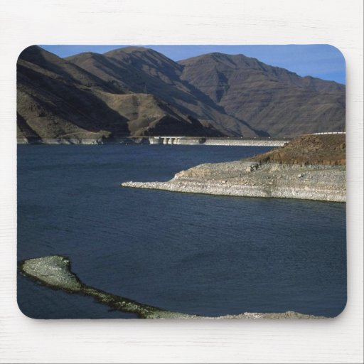 Dammed Snake River, Idaho Mouse Pad