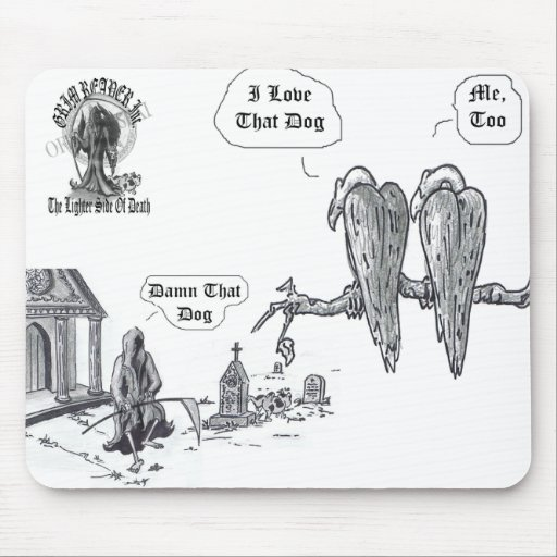 Damn-that-dog Mouse Pad