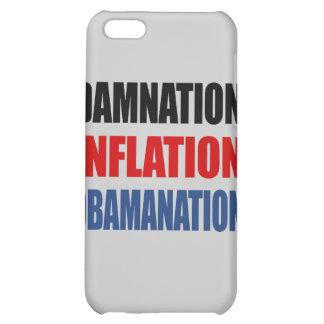 DAMNATION, INFLATION, OBAMANATION iPhone 5C CASES