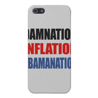 DAMNATION, INFLATION, OBAMANATION COVERS FOR iPhone 5