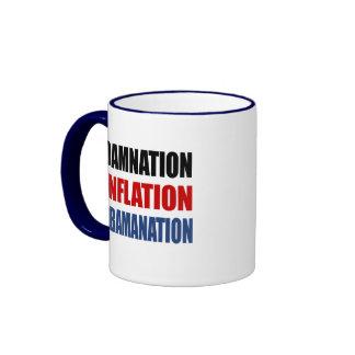 DAMNATION, INFLATION, OBAMANATION MUGS