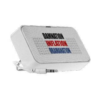 DAMNATION, INFLATION, OBAMANATION MP3 SPEAKER
