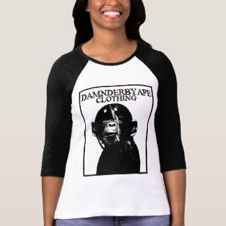 Damnderbyape clothing tshirts