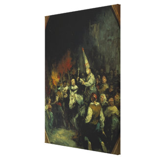 Damned by the Inquisition Canvas Print