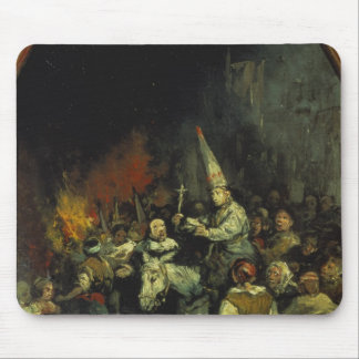 Damned by the Inquisition Mouse Pad