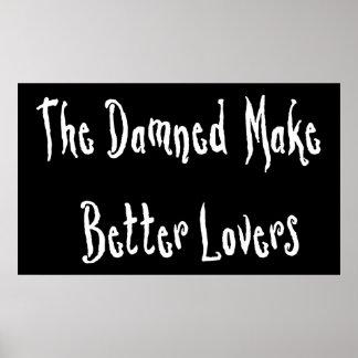 Damned Good Lover Poster