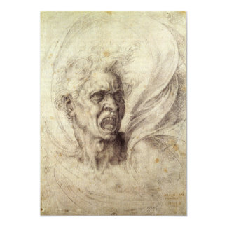 Damned Soul by Michelangelo, Renaissance Art Announcement