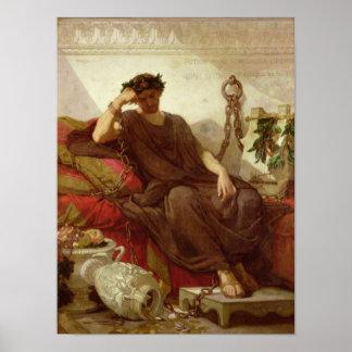 Damocles, 1866 print