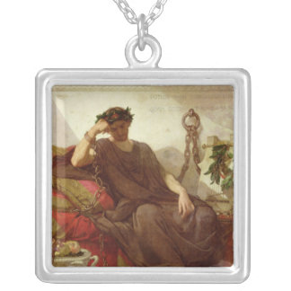 Damocles, 1866 silver plated necklace