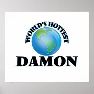Damon más caliente del mundo poster