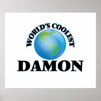 Damon más fresco del mundo poster