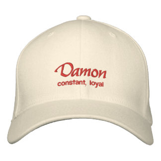 Damon Name Cap / Hat