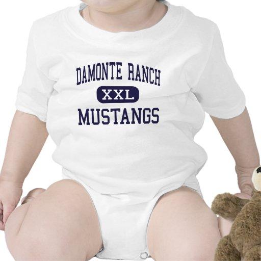 Damonte Ranch - Mustangs - High - Reno Nevada Baby Creeper