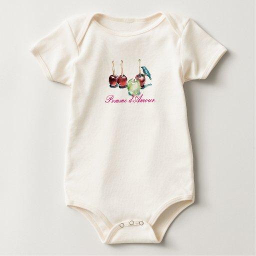 d'Amour de Pomme Body Para Bebé