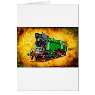 Dampflok locomotive vintage F005 Card