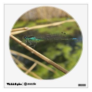Damsel Fly Wall Sticker