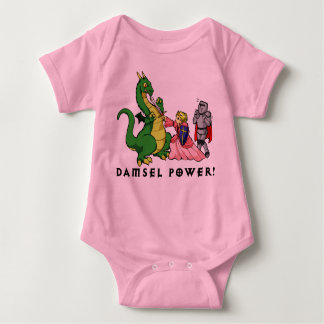 Damsel Power Baby Bodysuit