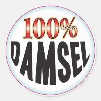 Damsel Tag Sticker