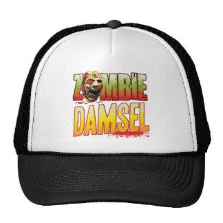 Damsel Zombie Head Trucker Hats