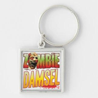Damsel Zombie Head Keychains