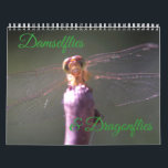 """Damselflies and Dragonflies Calendar<br><div class=""""desc"""">Delicate and elegant,  enjoy damselflies and dragonflies all throughout the year.</div>"""