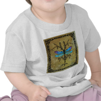 Damselfly Nouveau Camisetas