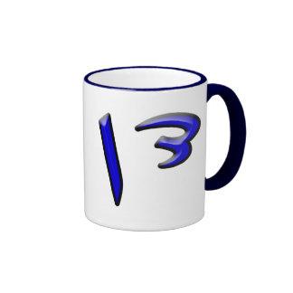 Dan - 3d Effect Ringer Coffee Mug