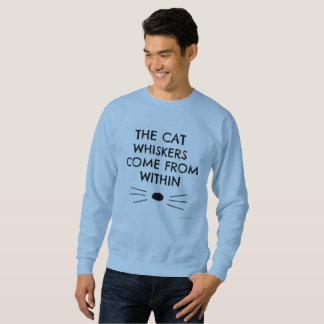 Dan And Phil- cat whisker long sleeve Sweatshirt