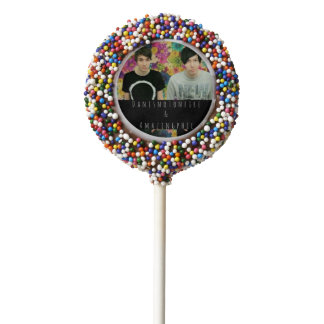 Dan and Phil Chocolate Covered Oreo Pop