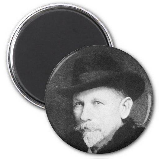 Dan Beard Famous American Writer 2 Inch Round Magnet