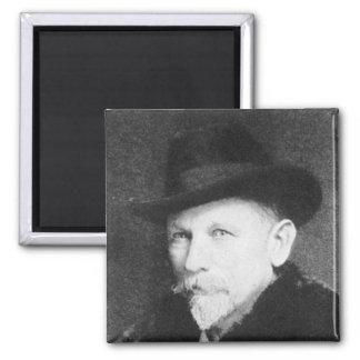 Dan Beard Famous American Writer 2 Inch Square Magnet