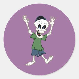 Dan Bones Classic Round Sticker