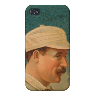 Dan Brouthers Baseball Card Case For iPhone 4