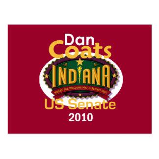 Dan COATS Senate Postcard