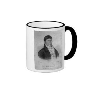 Dan Donnelly, engraved by Percy Roberts Ringer Coffee Mug