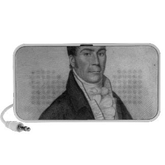 Dan Donnelly, engraved by Percy Roberts iPod Speaker