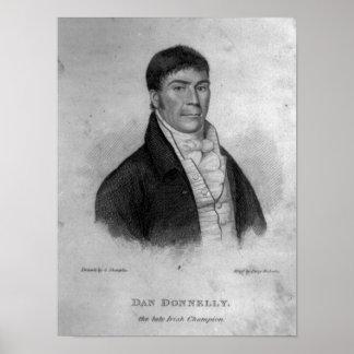 Dan Donnelly, grabado por Percy Roberts Poster
