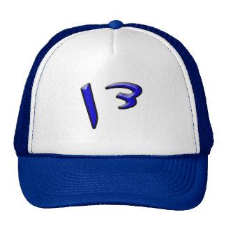Dan - efecto 3d gorras