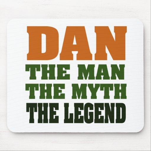 ¡Dan - el hombre, el mito, la leyenda! Tapete De Ratón