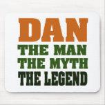 ¡Dan - el hombre, el mito, la leyenda! Tapetes De Ratón