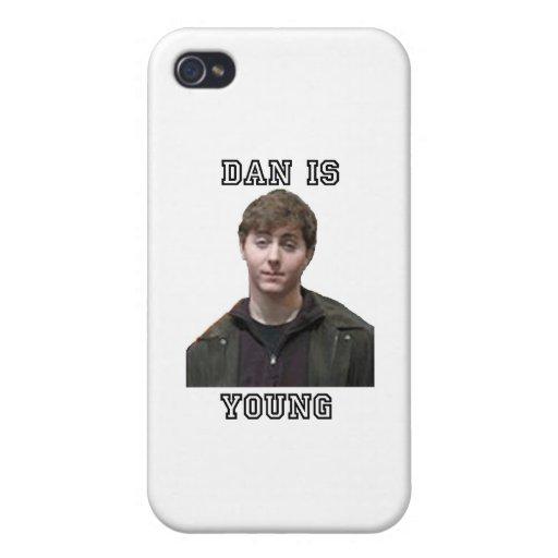 Dan es joven iPhone 4/4S fundas