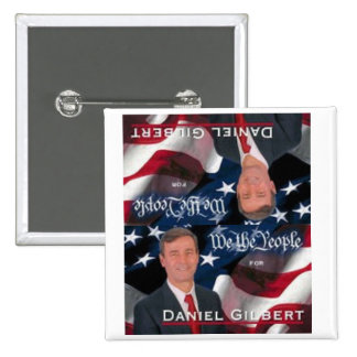 Dan Gilbert para presidente Square Button Pins