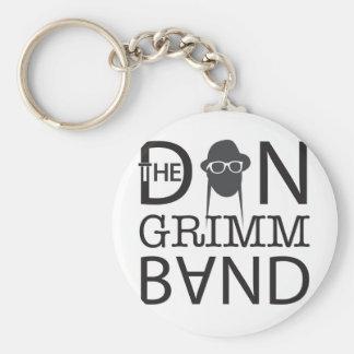 Dan Grimm Band Merch Basic Round Button Keychain